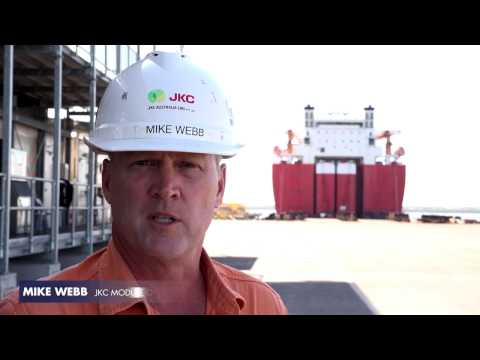 Ichthys Project - LNG Modules Transportation
