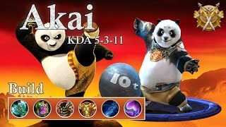 Mobile Legends: Akai, aggressive panda = best panda!