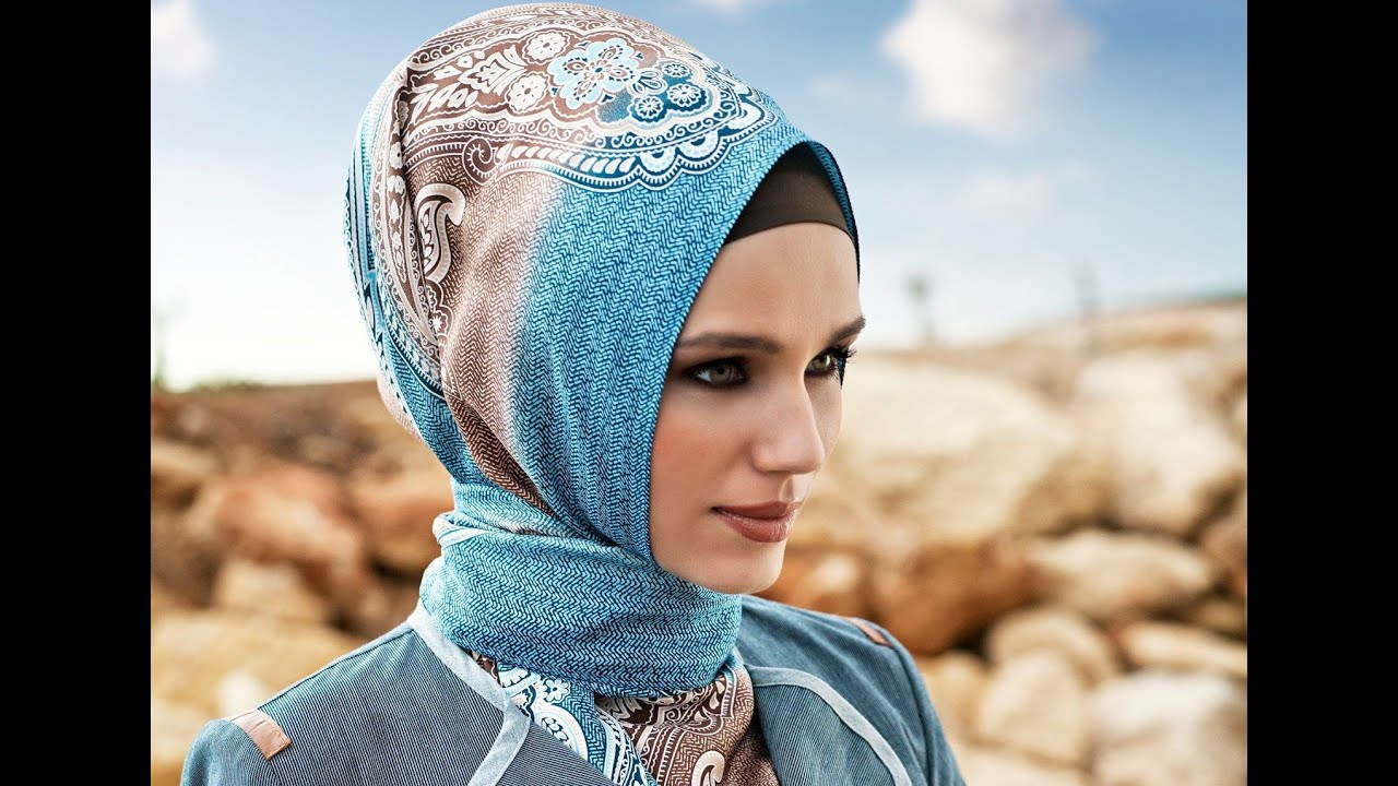 Head scarf with Modern Abayas