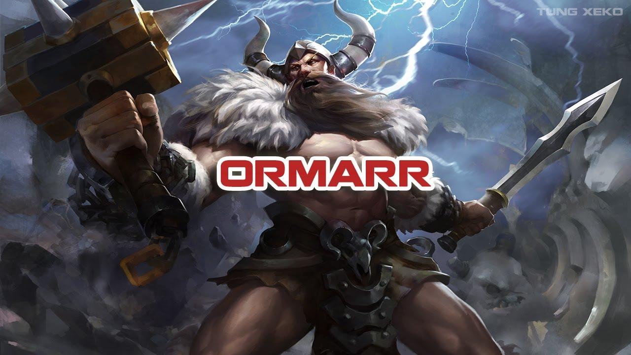 [Mới]Hướng dẫn chơi Tướng Ormarr - Cuồng Chiến Sĩ - Liên Quân Mobile - Realm of Valor