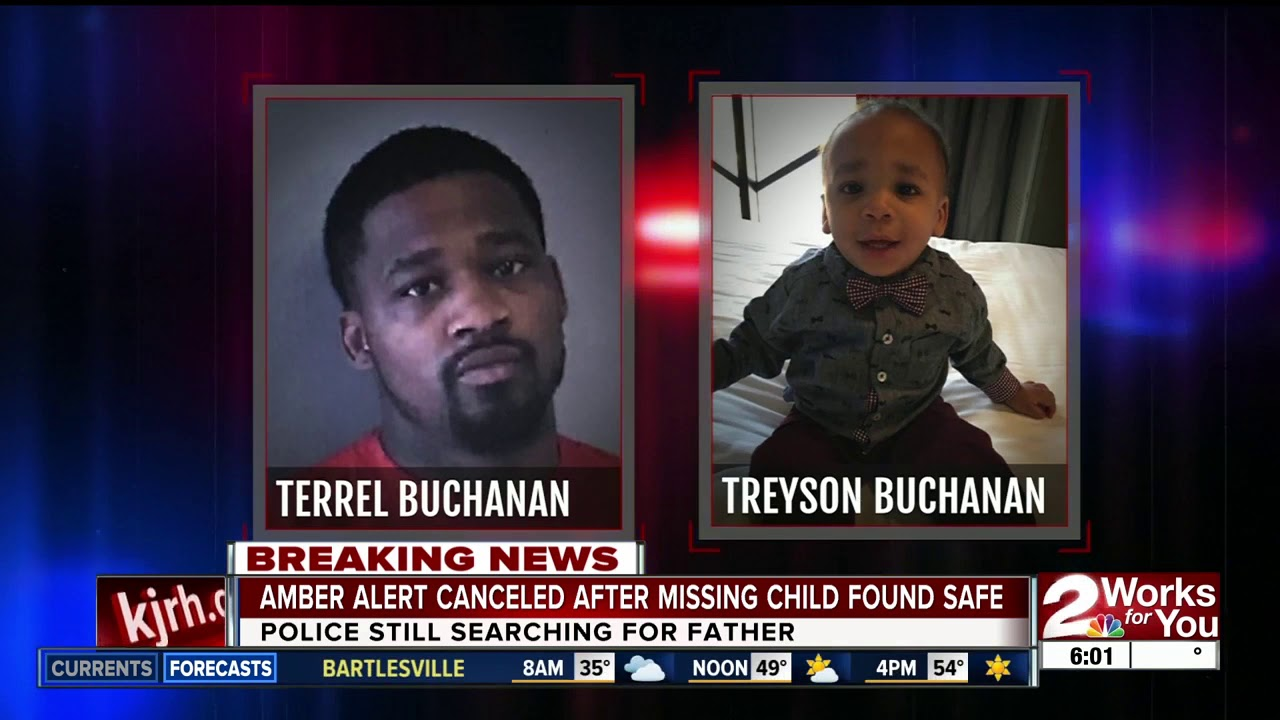 Amber Alert issued for 8-year-old child missing from Muskogee