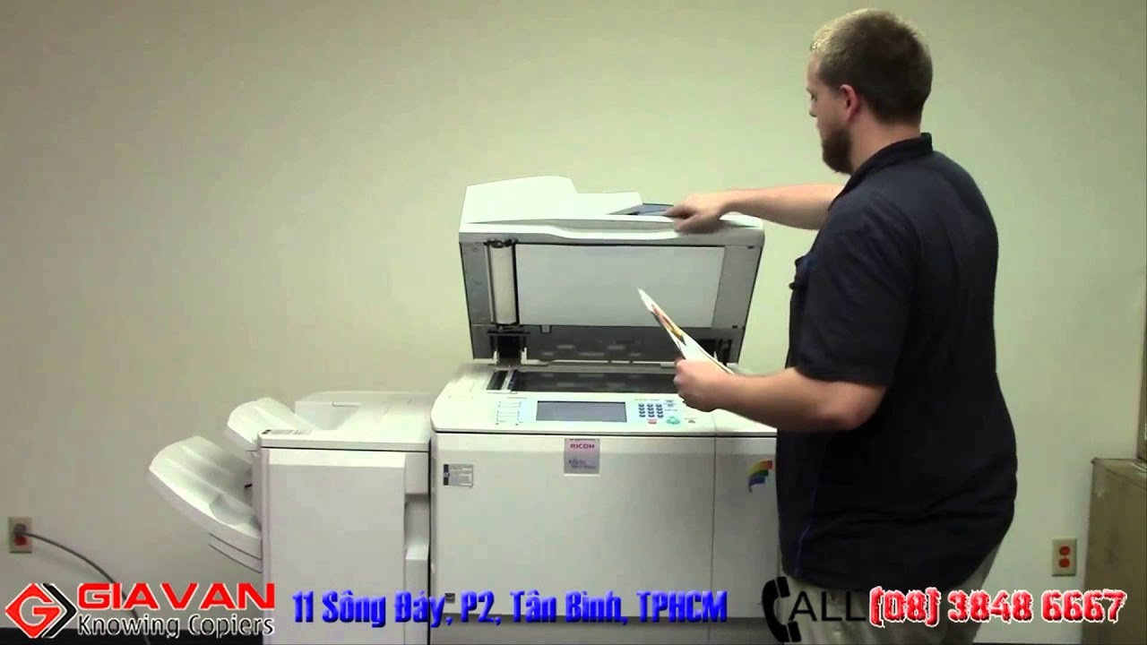 Máy photocopy màu Ricoh MPC 7501 - GIA VĂN