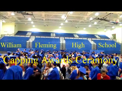 William Fleming High School Capping Awards Ceremony