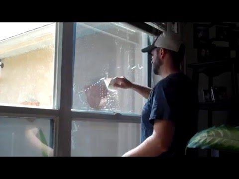 DIY Home Window Film Install, Energy Efficient