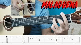 MALAGUEÑA - Guitar Lesson & Tabs (Marcos Kaiser)
