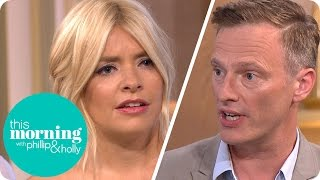 Holly Defends Breastfeeding In Public During Debate | This Morning