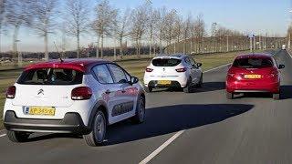 Peugeot 208 vs Citroen C3 vs Renault Clio