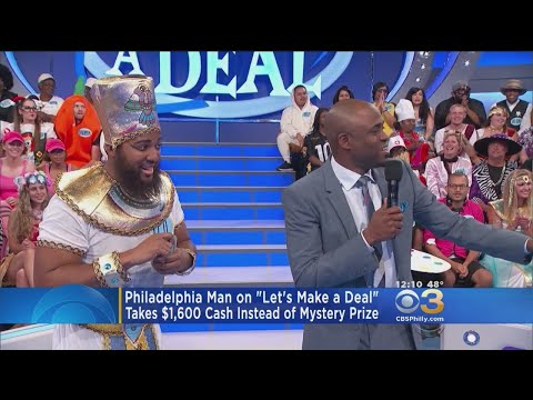 Philly Man Appears On Let's Make A Deal