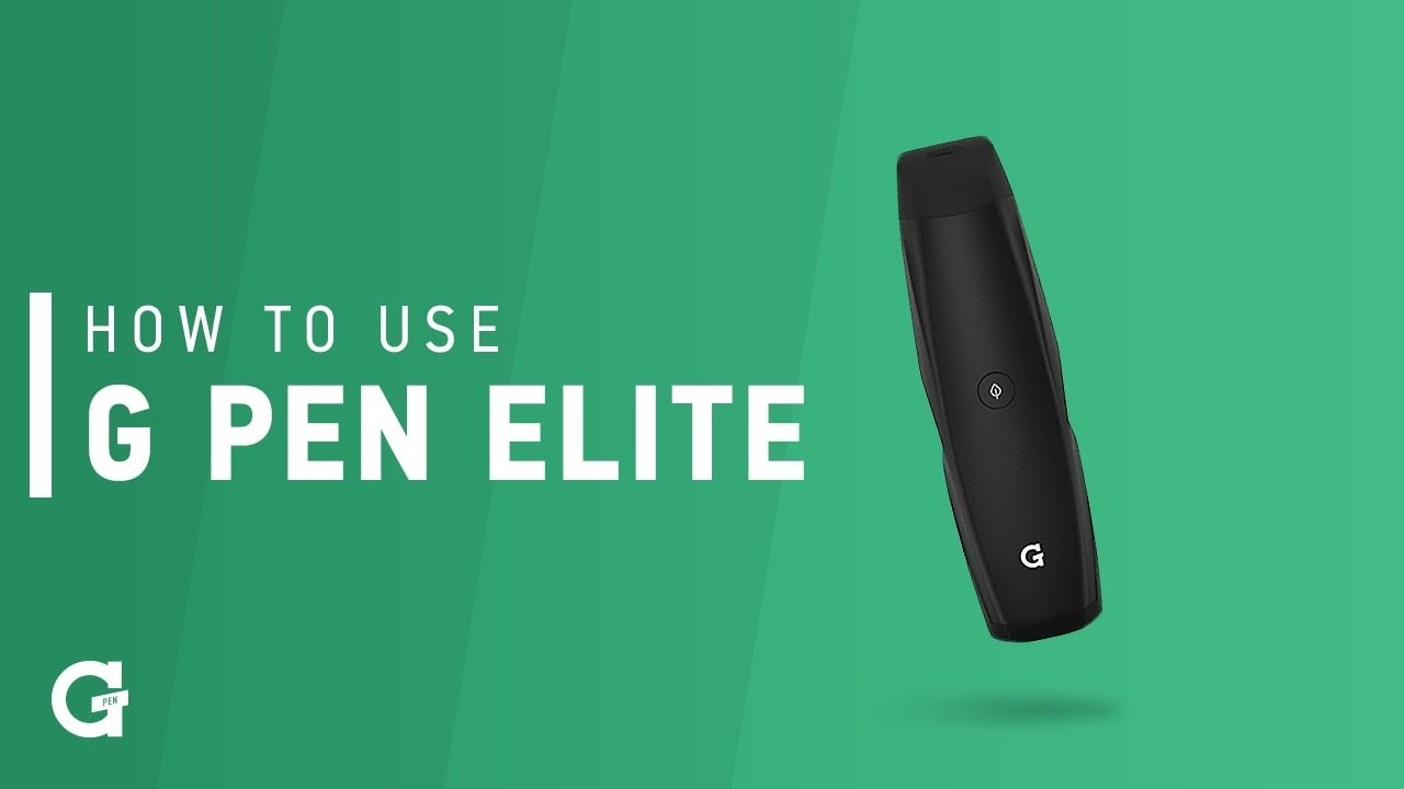 How To Use Your G Pen Elite Vaporizer (for Ground Material)
