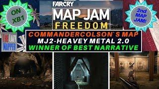 Far Cry Map Jam 2 Freedom Winner MJ2-Heavy Metal By CommanderColson for Best Narrative