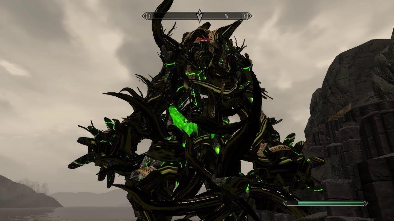 Skyrim mod: HTBM - The Call Of Cthulhu Part 7 R'lyeh