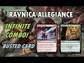 This card goes infinite | MTG Ravnica Allegiance Spoilers