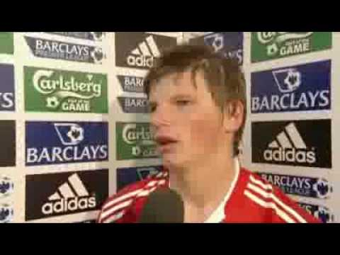 Liverpool Vs Arsenal 4-4 - Andrey Arshavin Interview After His Four Goals [HQ] - 21.04.2009