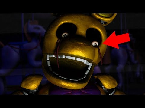 OUR MOTHER GETS STUFFED IN TO SPRING BONNIES SUIT?!   Five Nights At Fredbear's (ENDING)