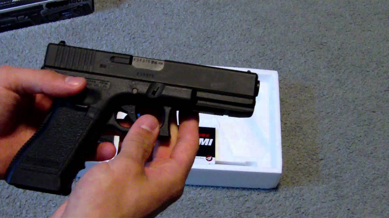 Tokyo Marui G18c Airsoft Review Youtube