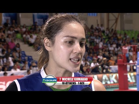 MATCH MVP: Michelle Gumabao | PSL All-Filipino Conference 2017
