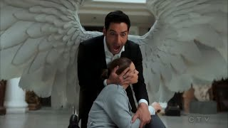 Lucifer S03E24 HD Chloe and Lucifer walk into a trap, Lucifer Saves Chloe thumbnail