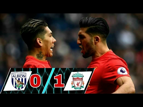 Download West Bromwich Vs Liverpool 0-1   All Goals & Extended Highlights   Premier League 16/04/2017 HD