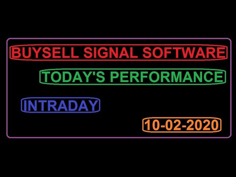 100% Best Buy Sell Signal Software for NSE & MCX | Mcx buy sell signal  soft. pefrormance 10/2/2020.