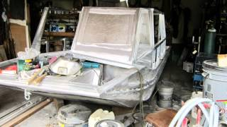 Airboat Construction Home Build Part 2