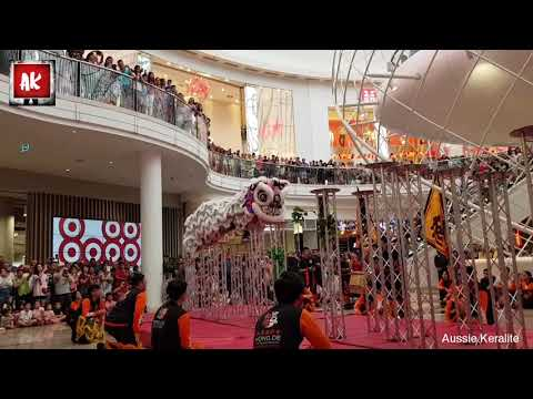 Chinese Traditional Lion Dance @ Chadstone The Fashion Capital