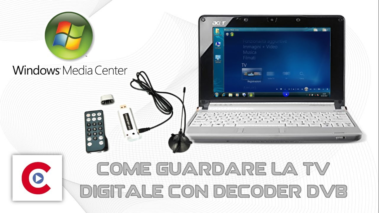 Tv Digitale Tv Digitale Sul Computer Tramite Decoder Usb Windows Media Center