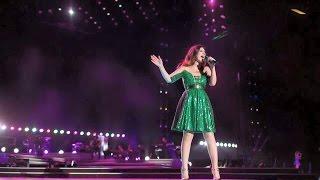 Laura Pausini concerto, è salita sul palco ed ecco cosa è accaduto poco dopo
