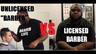 """Licensed Barbers VS Unlicensed """"Barbers"""" thumbnail"""