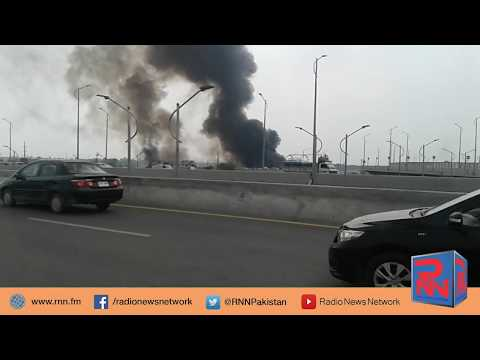 Fire in Sunday Market Islamabad | Radio News Network | Mubashir Malik