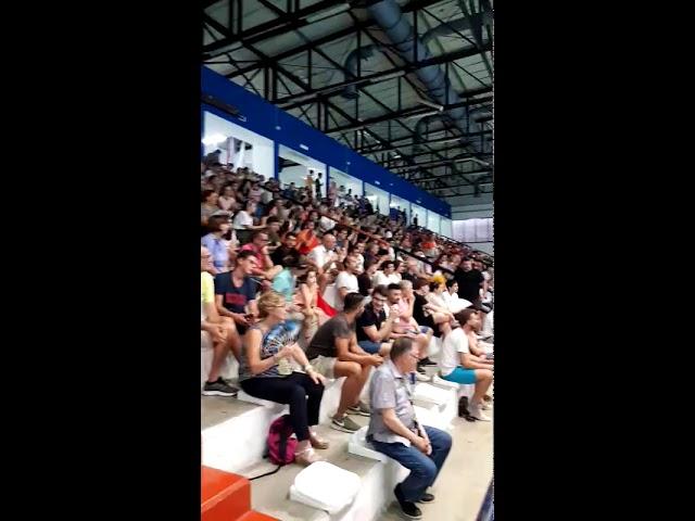 STADIO DEL NUOTO...CALDO DA MORIRE!...