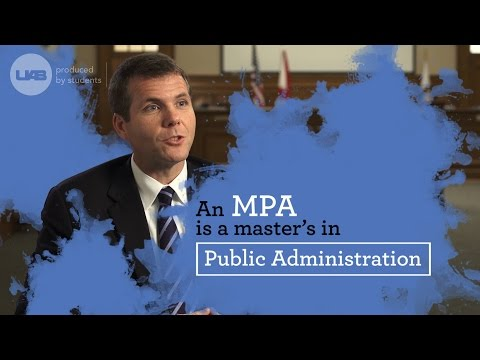 Why choose a Masters in Public Administration?