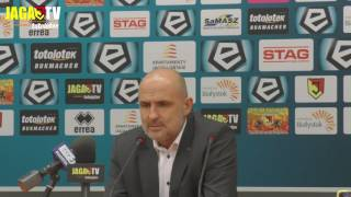 Trenerzy po meczu Jagiellonia - Cracovia