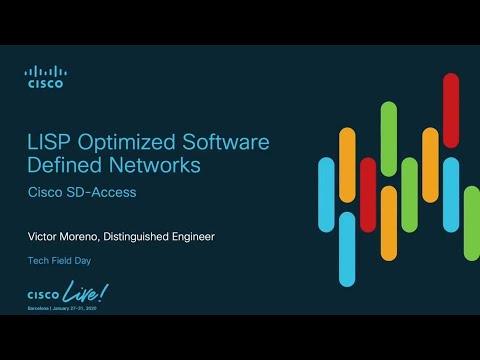 Cisco LISP Optimized Software Defined Networks