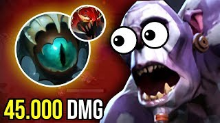 Carry Witch Doctor Skadi Madness 7.07 Funny Gameplay Dota 2 | UPSIDE DOWN #1