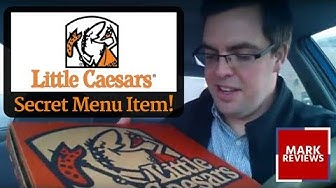 REVIEW - Little Caesars Pizza Secret Menu Item!