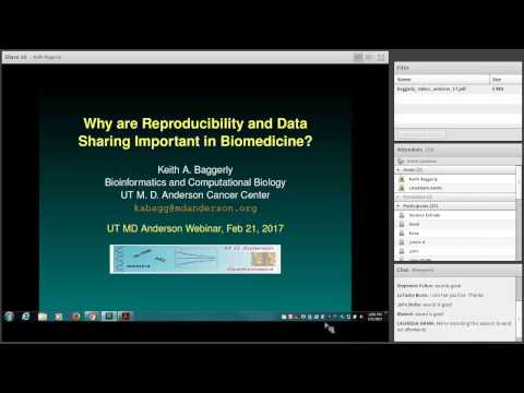 Why are Reproducibility and Data Sharing Important in Biomedicine