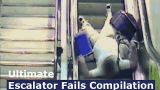 Ultimate Escalator Fails Compilation [2014]