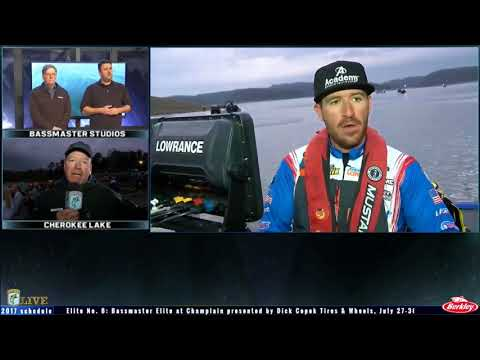 Bassmaster Live: 2017 Cherokee Lake Sunday, part 1