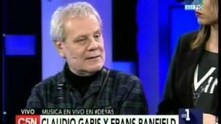C5N - MUSICA EN VIVO: CLAUDIO GABIS Y FRANS BANFIELD