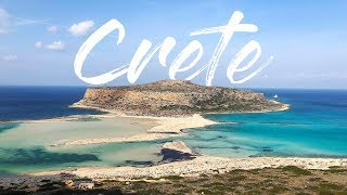 Exploring Crete | Travel video | 2018 (Balos, Prevelli, Rethymno, Agios Nikolaos)