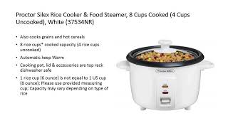 Best 3 Proctor Silex Slow Cooker Reviews