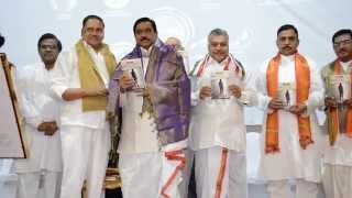 Sh. K E Krishnamurthy, Dy CM of AP launched 4th World Telugu Literature Conference(4) in London.