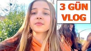 3 Günlük Vlog. Ecrin Su Çoban. ( Benimle Hazırlan , Doğum Günü , Sinema ,  Alışveriş )