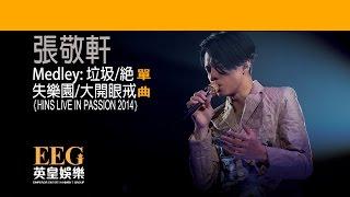 張敬軒 Hins Cheung《Medley:垃圾/絕/失樂園/大開眼戒 - HINS LIVE IN PASSION 2014》[Lyrics MV]