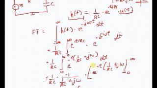 fourier transforms and the impedance method
