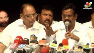 Kalaipuli S Thanu speaks about Producers Council Election Issue | Press Meet