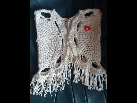 Haken Tutorial 196 Peuter Gilet Youtube