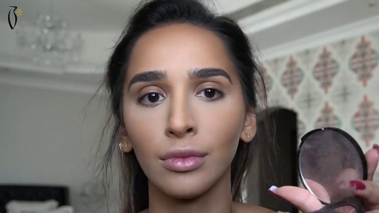 87d1846e7157b makeup tutorial by hala Abdallah