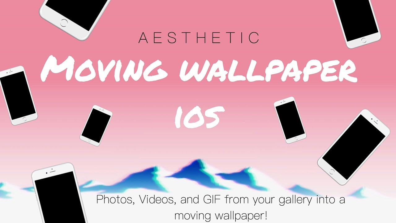 How to Make your Own Moving Wallpaper | A e s t h e t i c moving wallpapers | WHAT APP?!!