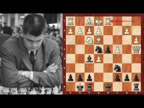Bobby Fischer's friend and second in 1972 - GM William Lombardy : Some Notable games